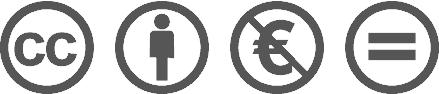 """Creative Commons Nicht-Kommerziell Keine Bearbeitung"""